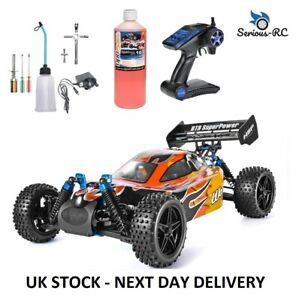 Petrol RC Car With *Two Gears* Remote Control Car With STARTER KIT & NITRO FUEL