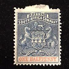1891 British South Africa Co. Postage Stamp Unused