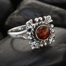 House of Rhya Amber Ring ~ Size 9