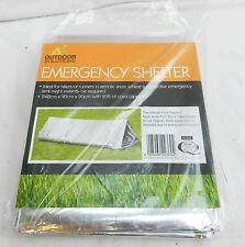 Outdoor Solutions RIPARO termico di emergenza/Tenda/Bivacco-NUOVA CON ETICHETTA
