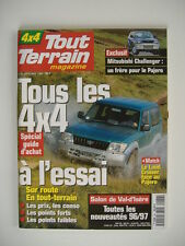 TOUT TERRAIN MAGAZINE 86 TOYOTA LAND CRUISER-BUGGY LM-SSANGYONG MUSSO-PAJERO TD