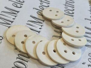 10x Ceramic Transistor Insulator / Pad suitable for KT802  KT803 KT805 KT808 NOS