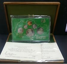 1976 SINGAPORE PROOF SET WITH BOX & COA