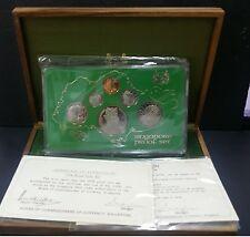 1976 SINGAPORE PROOF SET WITH BOX & COA