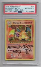 2016 Pokemon Evolutions Charizard Holo Mitsuhiro Arita Signed W/ Sketch PSA/DNA