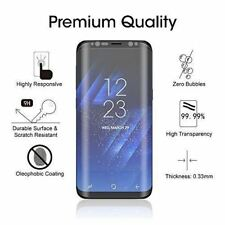 100%Genuine Tempered Glass LCD Screen Protector For Samsung Galaxy S8 Full Curve