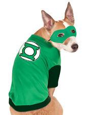 Dc Superheroes Green Lantern Pet Dog Cat Halloween Costume