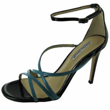Patent Leather Sandals Casual Heels for Women