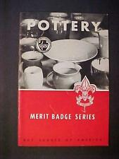 OLD VINTAGE ANTIQUE Boy Scouts Merit Badge Illustrated BOOK ORIGINAL 1932