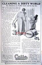 Vintage 1921 'CASSO' Household Cleaner AD - Original Print Advert
