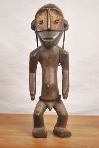 African art tribal,amazing Nande Statue  from Democratic republic of congo