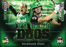 17-18 Beams Pietersen BBL Big Bash DUOS SUBSET Card Melbourne Stars #TD-05
