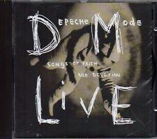 DEPECHE MODE - SONGS OF FAITH AND DEVOTION LIVE - CD (OTTIME CONDIZIONI)