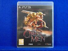 ps3 OF ORCS & And MEN RPG Adventure Game PLAY AS ORCS & GOBLINS! Playstation PAL