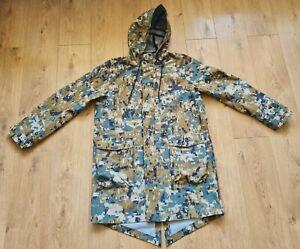 Nike Nikelab Men`s Camouflage Camo Rain Jacket Parka CI6212 222 size Small
