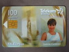 Chip Kaart gebruikt Slovenie  -  Leticia Calderon