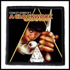 A CLOCKWORK ORANGE --- Patch / Aufnäher ---Classic 80's Adult Horror Movie Gore