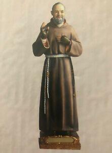Padre Pio Religious Statue 23cm (H)