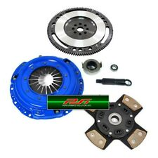 PSI 4-PUCK STAGE 3 CLUTCH KIT+ 10 LBS CHROMOLY FLYWHEEL ACURA HONDA B16 B18 B20