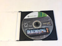 Dead Rising 2 Two II Microsoft Xbox 360 Cap Com Disc only 2010 Zombie Killer