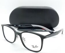 cdcc8b301cf8 NEW RayBan RX Frame Wayfarer Prescription Glasses Black RX7142 2000 50mm  7142