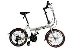 """ECOSMO 20"""" Brand New Folding City Bicycle Bike 21SP SHIMANO - 20F03W"""