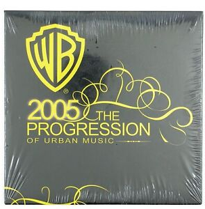 ERIC BENET,CRIME MOB WB 2005 The Progression CD  2005 URBAN MUSIC (SEALED).