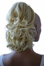 PRETTYSHOP 14 OR 22 Hair Piece Pony Tail Extension Draw String Wavy Curled Nat