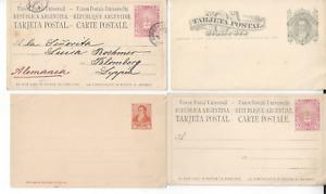 ARGENTINA  POSTAL STATIONERY 21 POST CARDS (12 SCANS)