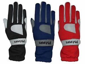 Go Kart Karting Racing Gloves - OMARA AND POLYESTER for Better Grip All Sizes
