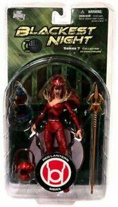 DC Direct Blackest Night: Series 7: Red Lantern Mera Action Figure NEW