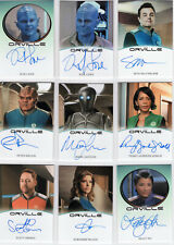 The Orville Season 1 - COMPLETE Master Set - ALL Autos, Relics, Exclusives, +++