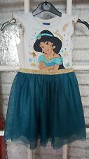 Girls Disney Aladdin Party Dress Age 4-5yrs