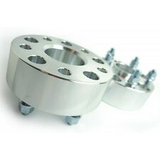 2 Pcs Wheel Spacers Adapter 5X114.3 5X4.5 | 70.3 CB | 1/2 UNF | 50MM For Lincoln