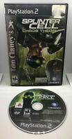 Splinter Cell Chaos Theory - Case and Disc - Tested & Works - Playstation 2 PS2
