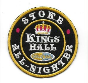 NORTHERN SOUL :  STOKE ALL NIGHTER -  Embroidered Iron Sew On Patch Badge