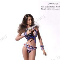 1//6 Asian Beauty M Bust Female Body Figure for Phicen TBLeague Seamless Natural