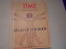 Time Presents ATLAS OF THE BODY  the Rand McNally  1st Printing 1980