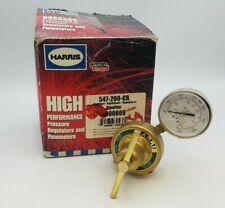 Harris 547-200-CR High Flow Heavy Duty Oxygen Single Stage Station Regulator NIB