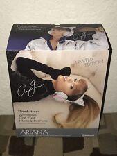 Ariana Grande Wireless Bluetooth Cat Ear Headphones Brookstone Limited New