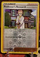 Pokemon Sword and Shield Professor's Research reverse holo 178/202!!