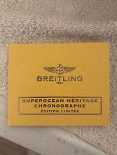 Guide Booklet Papers Breitling Superocean Heritage Manual
