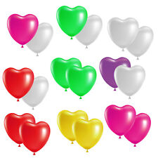 Herzballons 30cm Herz Luftballon Helium Ballons Latexballons Hochzeit Pary Trauu