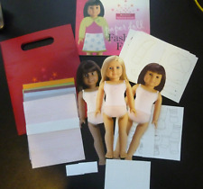 American Girl *FASHION SHOW PAPER DOLLS & BOOK SET/GIFT BAG*~Retired~Fast Ship