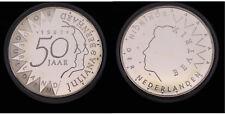 Netherlands - 50 Gulden 1987 - PROOF - .925 zilver, 25 gram