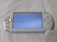W4194 Sony PSP 1000 console Ceramic White Handheld system w/battery English