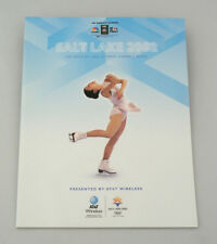 OFFICIAL NBC OLYMPIC VIEWER'S GUIDE - SALT LAKE 2002 - MICHELLE KWAN ON COVER