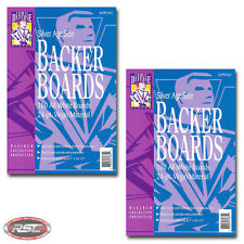 "200 - Comic Defense SILVER Comic Book Backer Boards - 7"" x 10-1/2"" - Ships Free!"