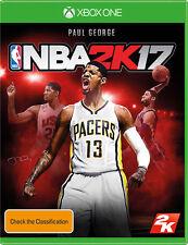 NBA 2k17 Microsoft Xbox One Game PAL Booklet