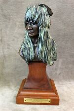 "BRONZE SCULPTURE ""IN THE LAND OF ERMINE"" - FRITZ WHITE - SIGNED, 21/50"